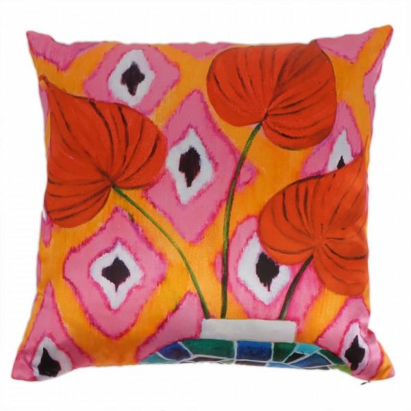 Kissen inkl. Füllung Red Flamingo 50x50cm