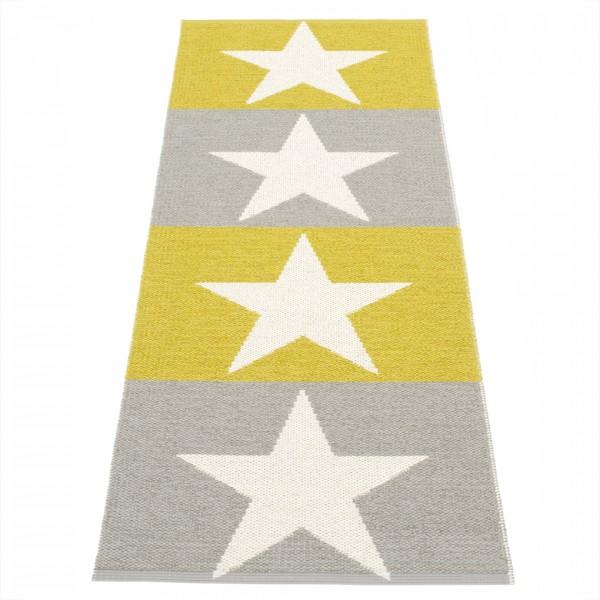 Viggo Teppich Grey Mustard 70x200cm