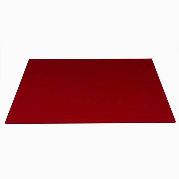 Tischset Wollfilz 45x33cm, Kirschrot