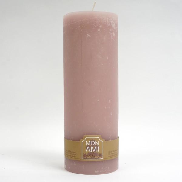 Engels Mon Ami Rustique Kerze rosé Ø10cm H20cm