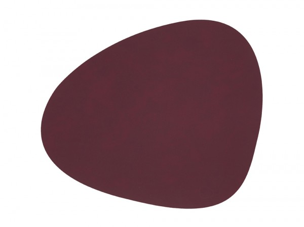 Nupo Table Mat Curve L plum
