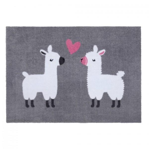 Fußmatte Washable Lamas, 50x75cm