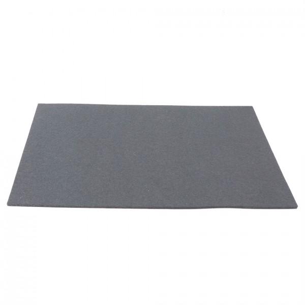 Tischset Wollfilz 45x33cm, Steingrau