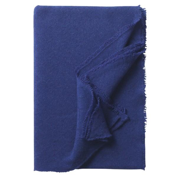 Milano Plaid royal blau 140x190cm