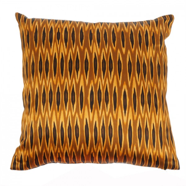 Kissen inkl. Füllung Tribal Ikat Long Ocre 40x40cm