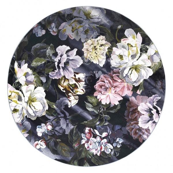 Designers Guild Delft Flower Noir Teppich