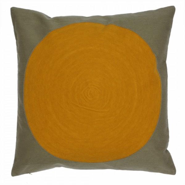 DENA Kissenhülle 50x50cm, yellow