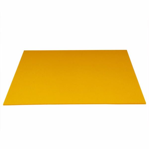 Tischset Wollfilz 45x33cm, Sonnengelb