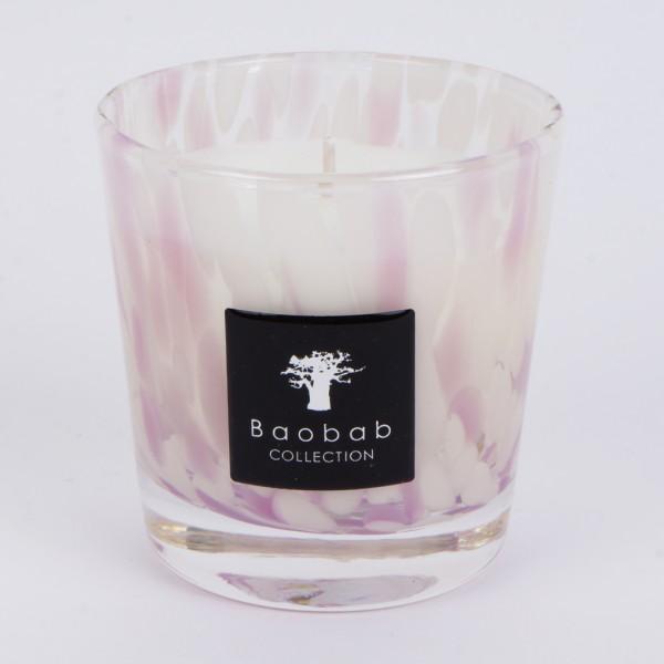 Baobab Duftkerze Pearls White Max One