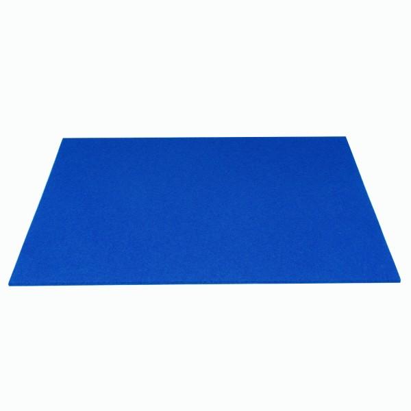 Tischset Wollfilz 45x33cm, Königsblau