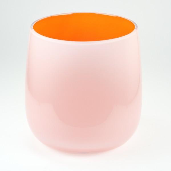 MEL Vase Happy Spring mittel 15cm orange