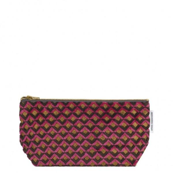 Portland ochre Small Washbag 6,5x21 x10 cm