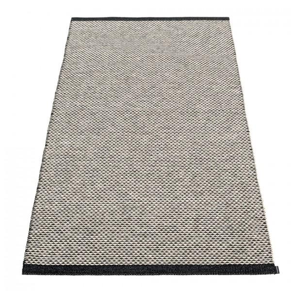 EFFI Teppich Black 85x160