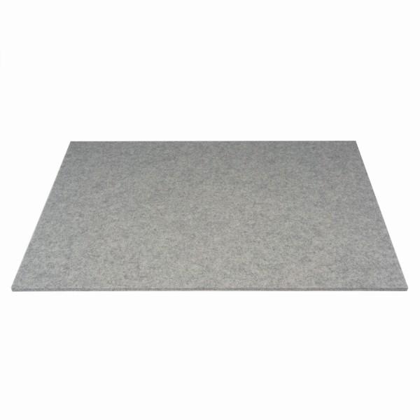 Tischset Wollfilz 45x33cm, Silbergrau