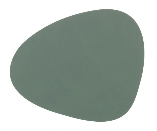 Nupo Table Mat Curve L pastel green