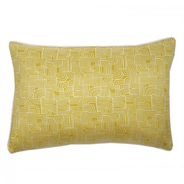 Kissen ICARE Lemon 30x45cm 100% SE, inkl. Füllung