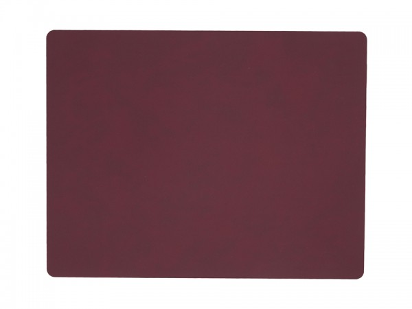 Star Table Mat Hippo Nupo red