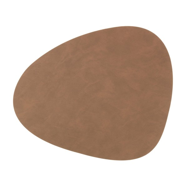 Nupo Table Mat Curve L brown