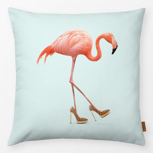 Kissenhülle Fancy Flamingo 40x40cm